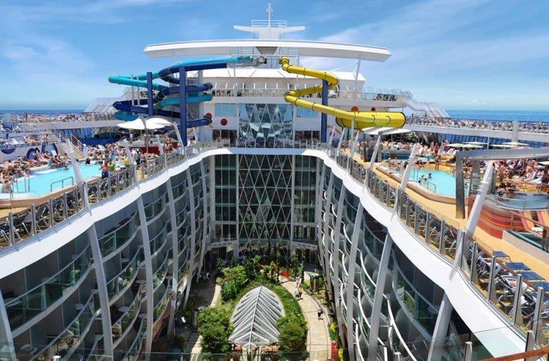 Puerto Rico recibió al crucero más grande del mundo