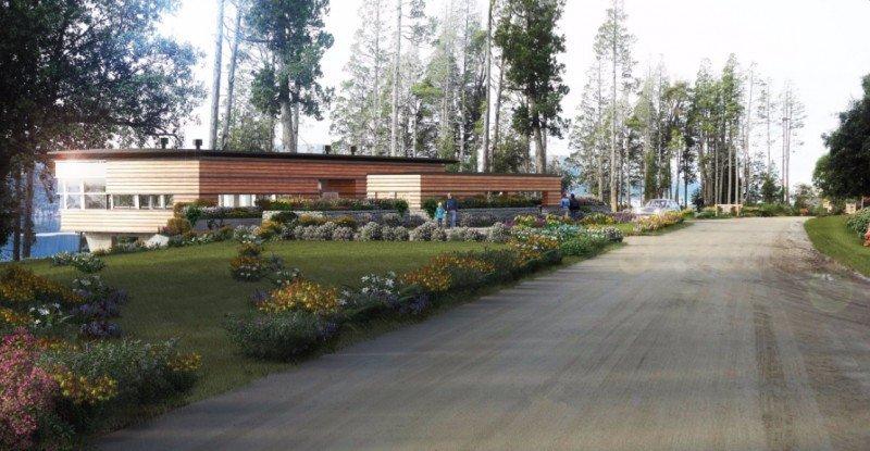 Centro de Interpretación en Villa Traful.