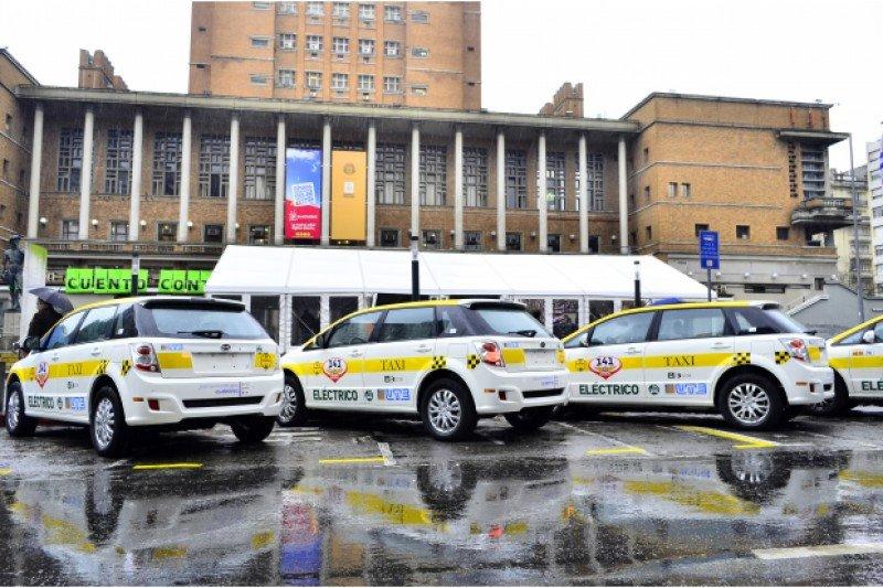Montevideo abre llamado para 12 taxis eléctricos
