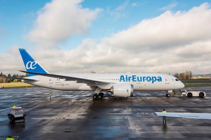 Air Europa sumó 21 nuevos destinos en 2016