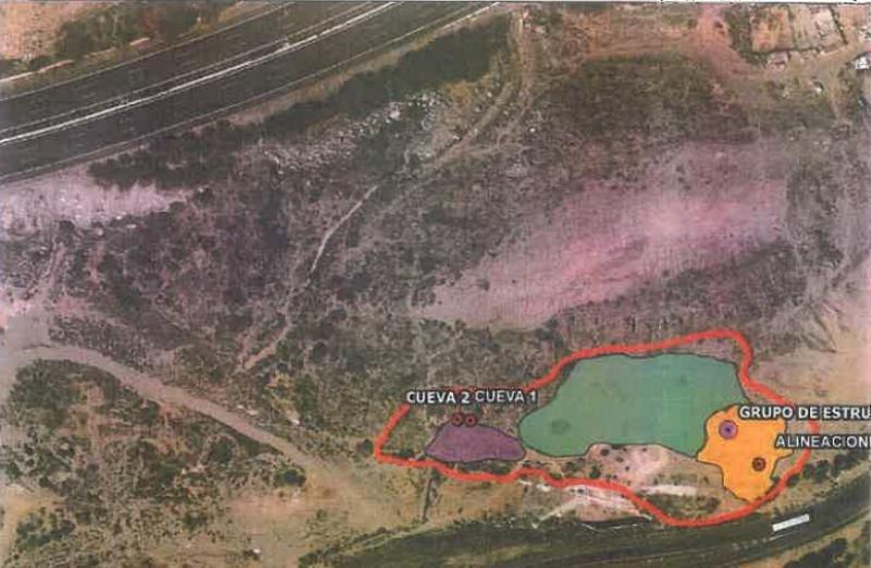 Localización de los restos arqueológicos (ver también informe completo en PDF al final de esta noticia)