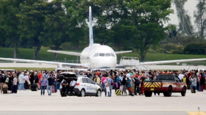Cinco muertos por disparos de un ex militar en un aeropuerto de Florida