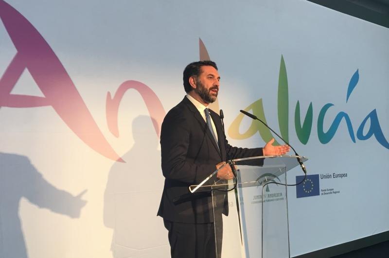 El consejero andaluz de Turismo, Francisco Javier Fernández.