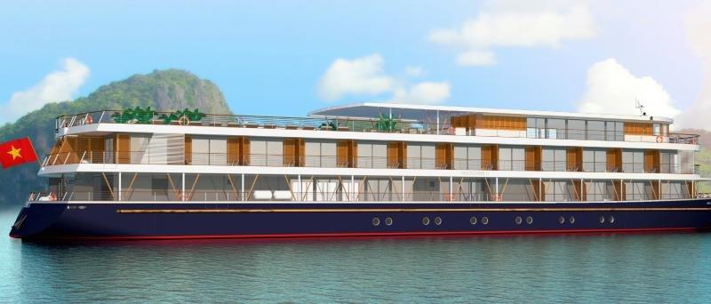 El RV Indochine II se unirá a los cuatro barcos que ya opera en río Mekong.
