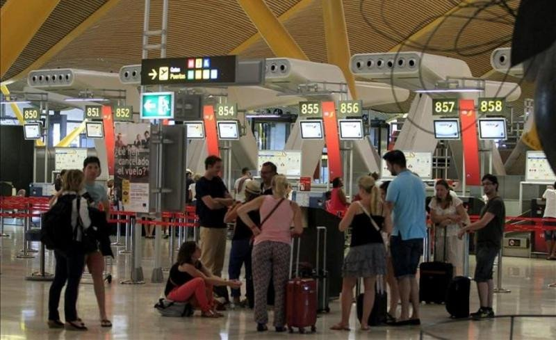 Los pasajeros internacionales suponen el 70% del tráfico español