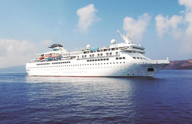 El Voyager, uno de los dos barcos con los que operaba la compañía. Foto: Daily Mail.