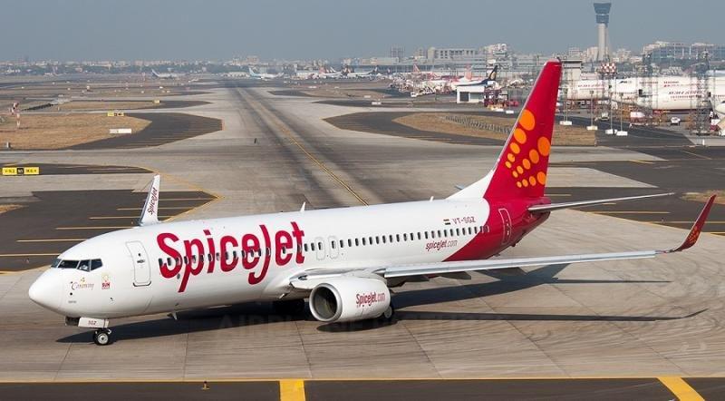 La low cost india SpiceJet encarga 205 aviones a Boeing por 20.705 M € (foto: Girish B/Airplane Picture).