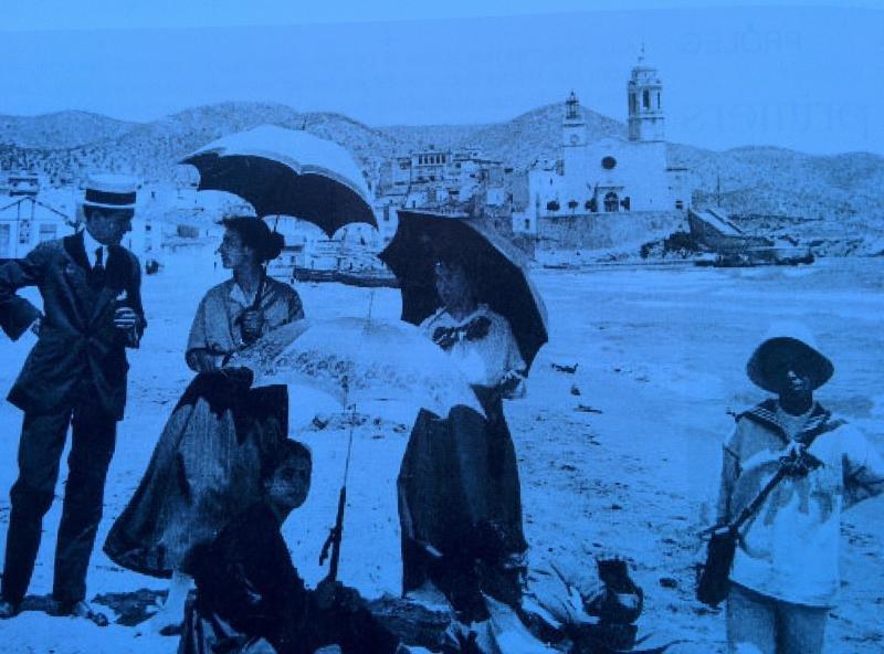 Una imagen de Sitges de principios del siglo XX.