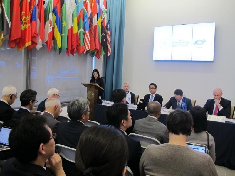 Además de Taleb Rifai, en la rueda de prensa estuvo presente David Scowsill, presidente de la WTTC, y Kazuhiko Koshikawa, de la Agencia Japonesa de Cooperación Internacional, con quien la OMT firmó ayer un acuerdo.