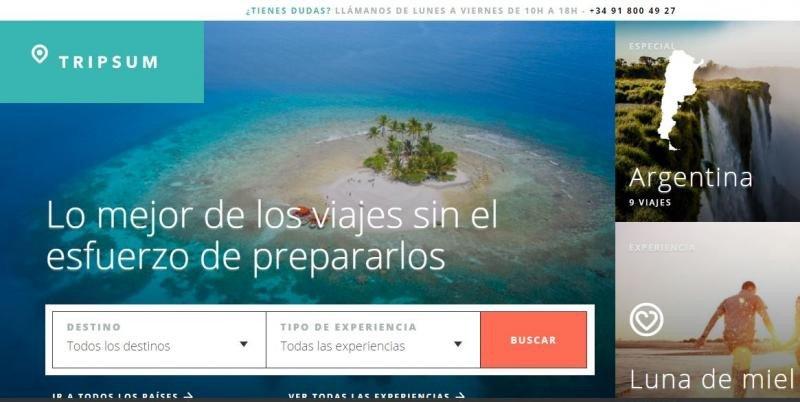 Tripsum busca clientes de larga distancia para las agencias de viajes