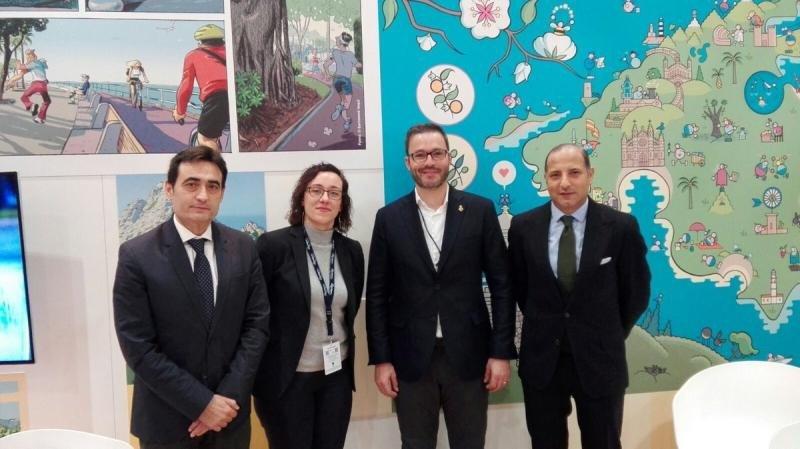 El programa fue presentado en el stand de Baleares con la presencia de Valentin Fernandez, director de Desarrollo Global de Telefónica Open Future; Joana Adrover, regidora de Turismo y Comercio; José Hila, alcade de Palma de Mallorca, y Kemel Kharbachi, CEO de Agora Next.