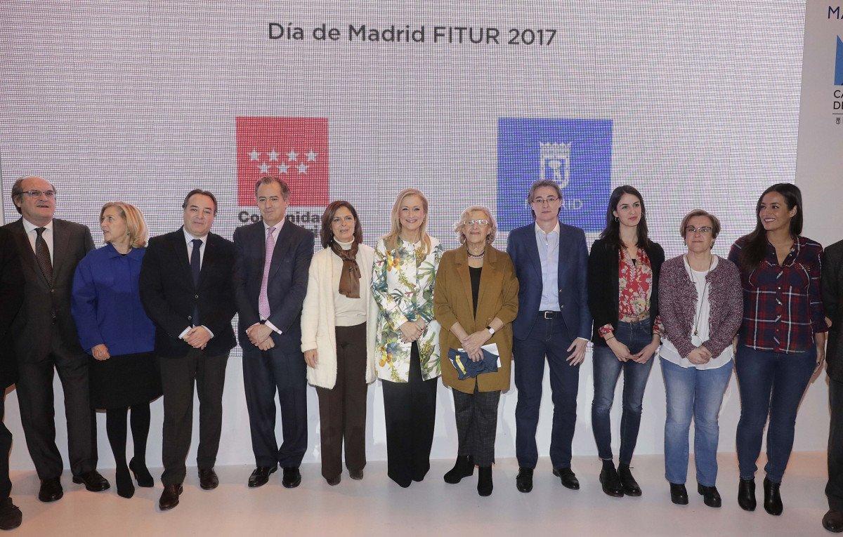 Encuentro de las autoridades políticas de Madrid en Fitur.
