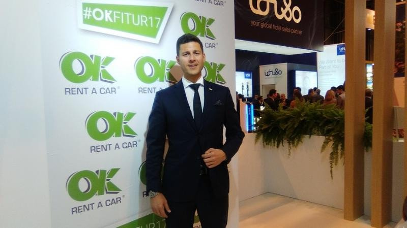 El presidente de OK Rent a Car anuncia en Fitur un nuevo destino.
