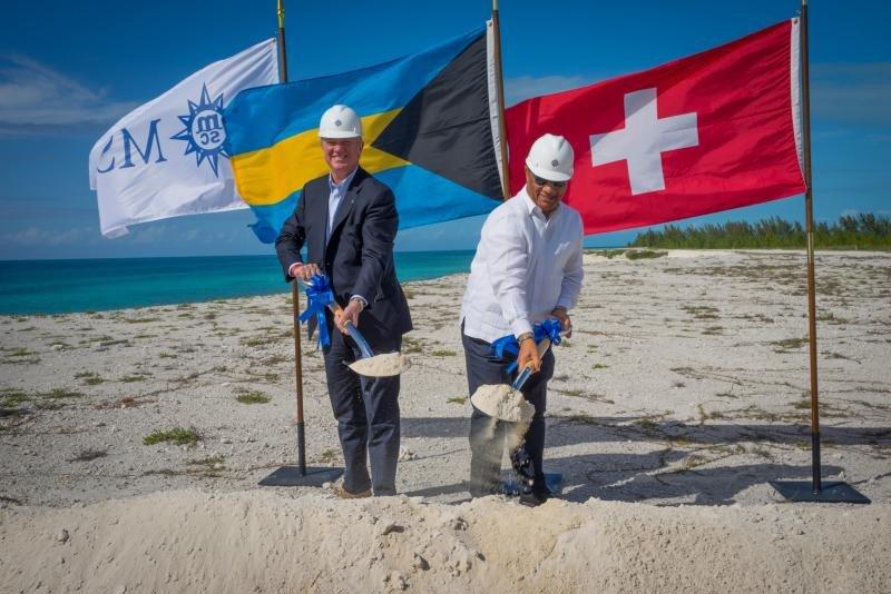 Arrancan las obras de la isla privada de MSC en Bahamas