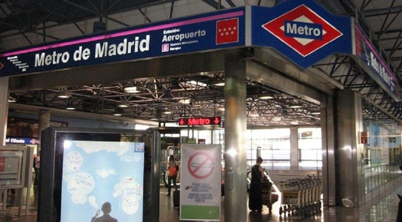 La línea de Metro al Aeropuerto de Madrid-Barajas cierra desde este jueves