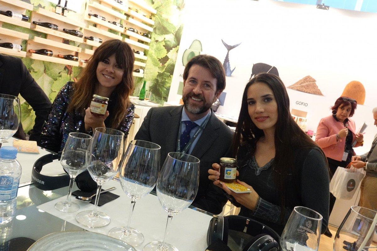 El presidente del Cabildo, Carlos Alonso, participó ayer en el acto inaugural del evento culinario.
