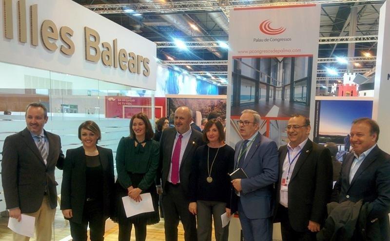 Presentación de la nueva campaña de invierno de Baleares, en Fitur 2017.