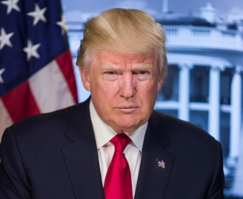 El nuevo presidente de los Estados Unidos, Donald Trump, en una foto oficial distribuida por la Casa Blanca.