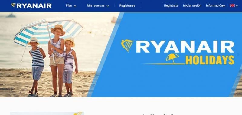 Ryanair Holidays ha dejado de funcionar.