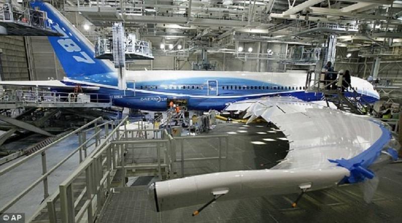 Boeing reduce su beneficio neto un 5%