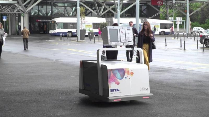 Robots para el equipaje