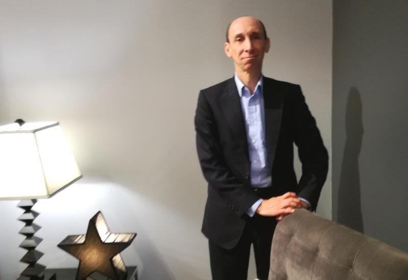 Dana Dunne, CEO de eDreams Odigeo, en la entrevista con HOSTELTUR.