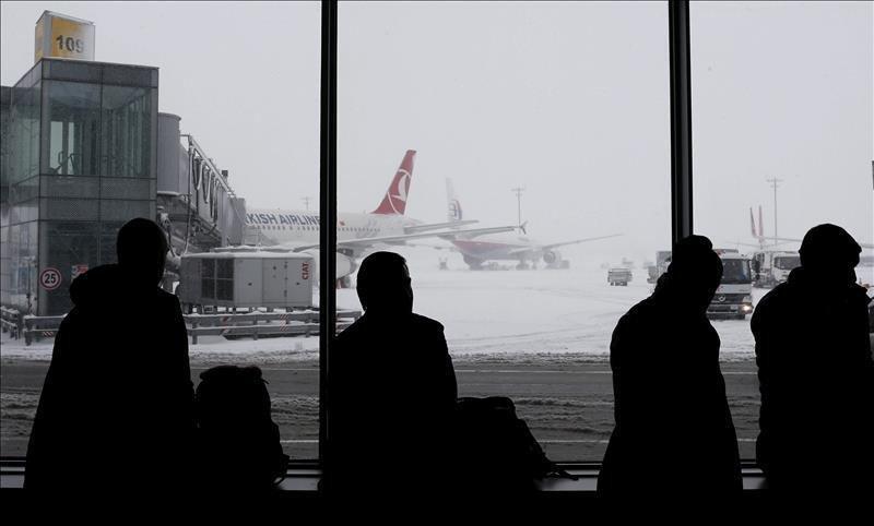 La foto corresponde al más reciente temporal de nieve sufrido por Turquía hace poco más de dos semanas (Foto: Ñandutí).