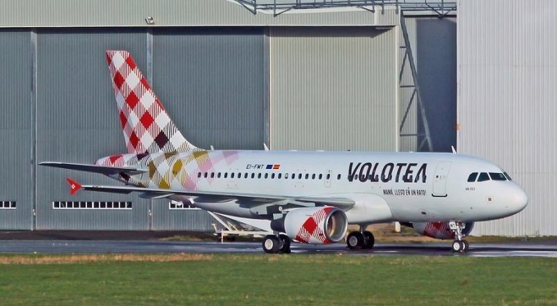 Volotea agrega 40 nuevas rutas a su programa de verano 2017