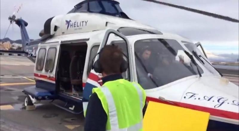 Helity opera vuelos de prueba para unir Ceuta y Andalucía