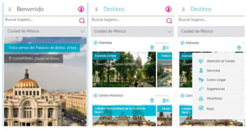 México lanzó guía turística digital en tres idiomas