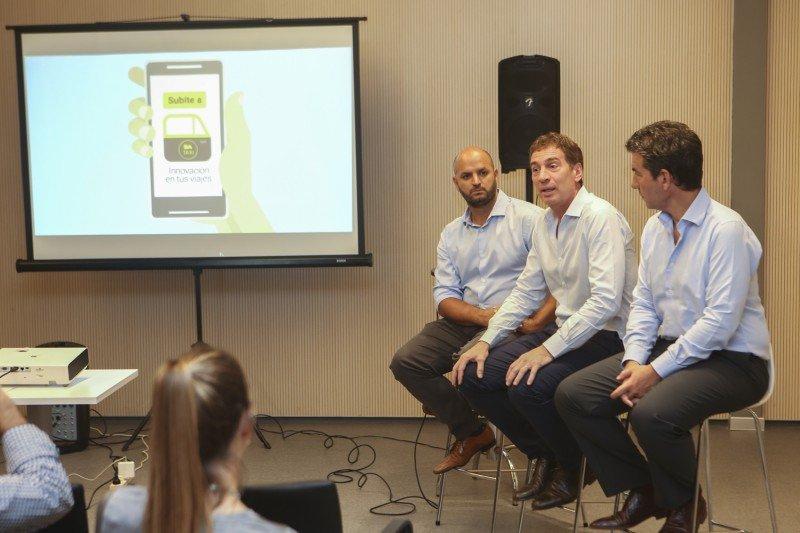 Se presentó BA Taxi, la app de ciudad de Buenos Aires contra Uber.