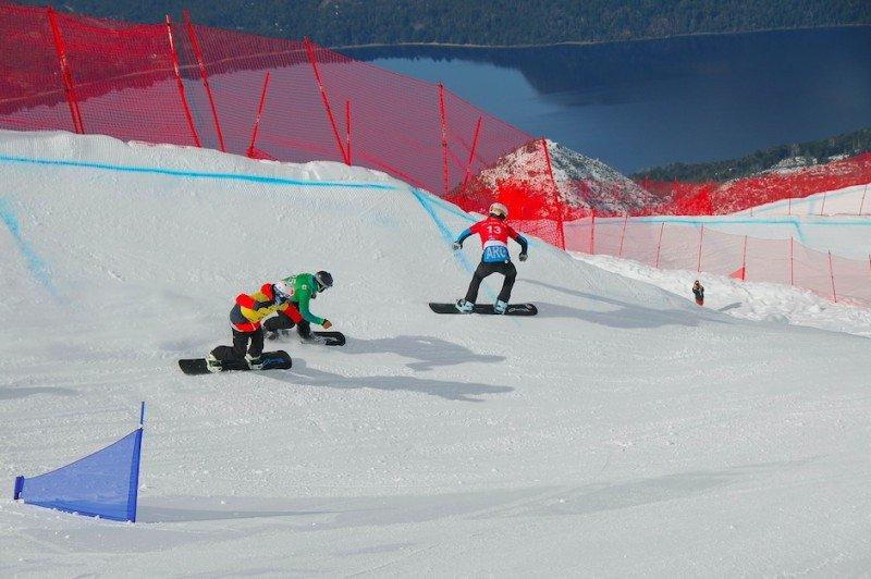 Este año Bariloche recibirá la copa del mundo del FIS en Snowboardcross.(Foto:  Julián Donatelli)