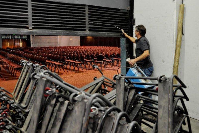 Continúan las reformas del Centro de Congresos y Exposiciones de Mendoza
