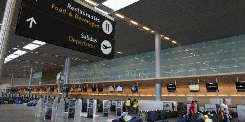 Unos 816.000 viajeros se moverán por aeropuertos colombianos hasta el lunes