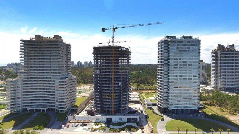 Trump Tower Punta del Este tendrá 24 pisos y 154 apartamentos de lujo.