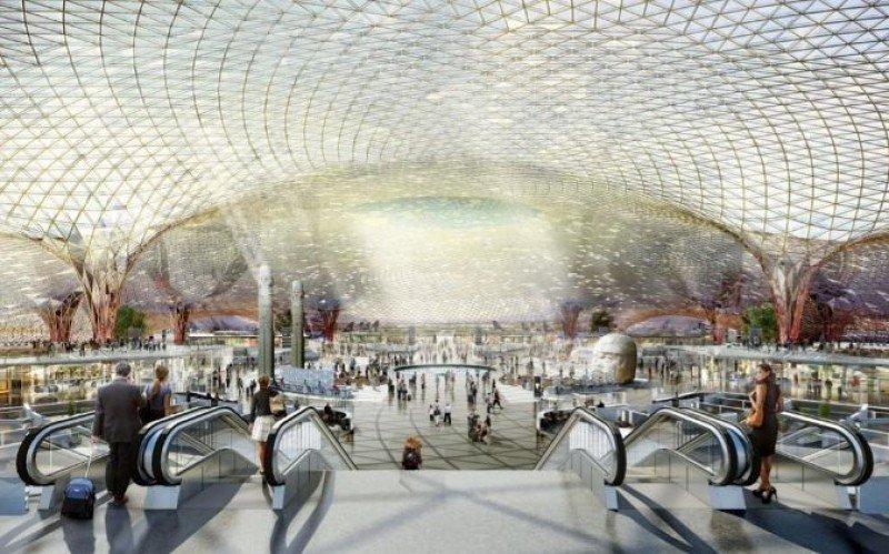 Se conoció quién construirá la terminal del aeropuerto de Ciudad de México