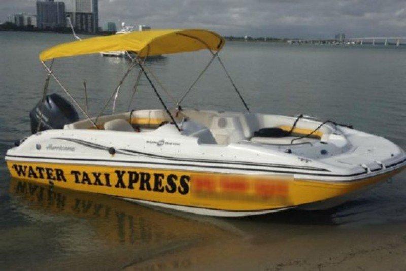 Miami Beach lanza un servicio de taxi acuático