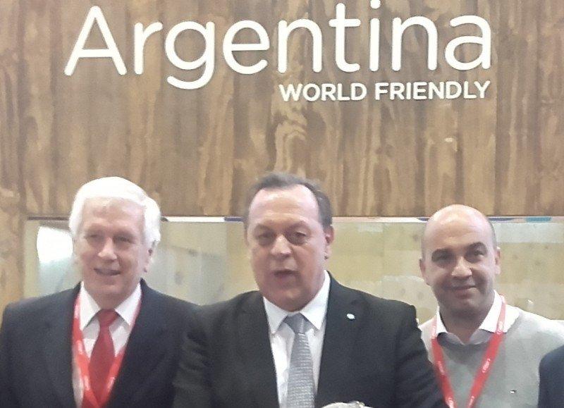 Ministro Santos en FITUR 2017