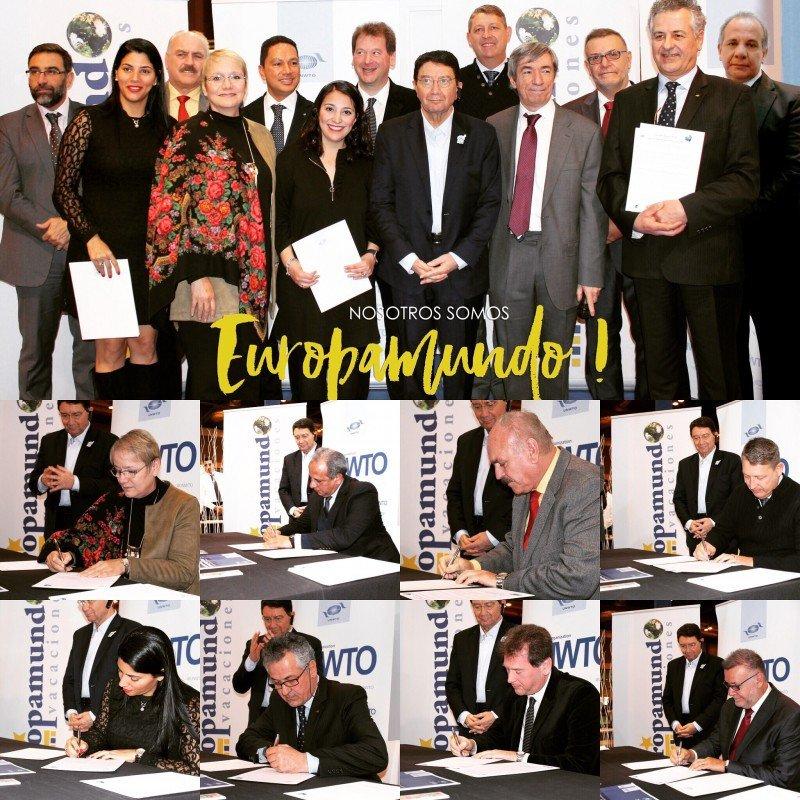 Europamundo firma Código Ético de la OMT