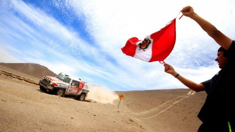 Perú pide ser anfitrión del Dakar 2018 para promocionar su turismo