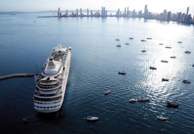 Cerca de 50.000 cruceristas visitaron Cartagena la primera quincena de enero