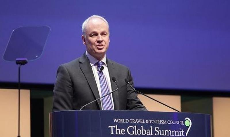 El presidente y consejero delegado de la WTTC, David Scowsill.