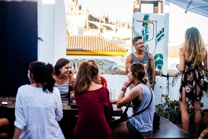El hostel La Banda Rooftop, en Sevilla, ha sido distinguido como el mejor de España.