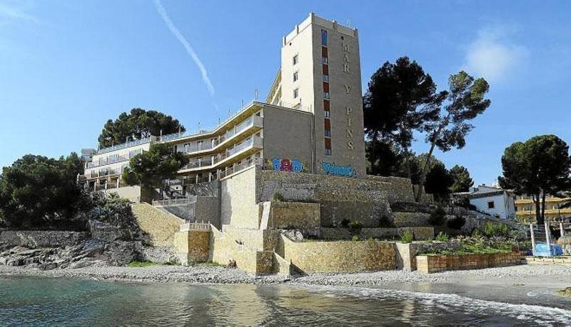 El hotel Mar i Pins sale a subasta por 12,5 M €