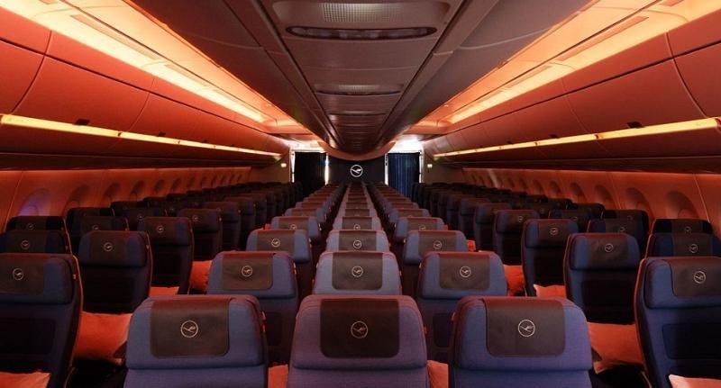 Lufthansa: 24 tipos de iluminación según los biorritmos diurnos y nocturnos