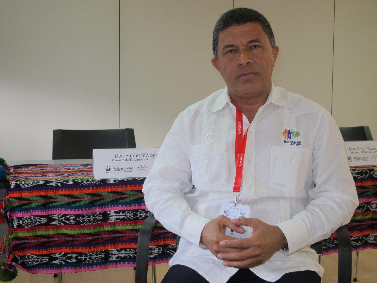 Emilio Silvestri, ministro de Turismo de Honduras.