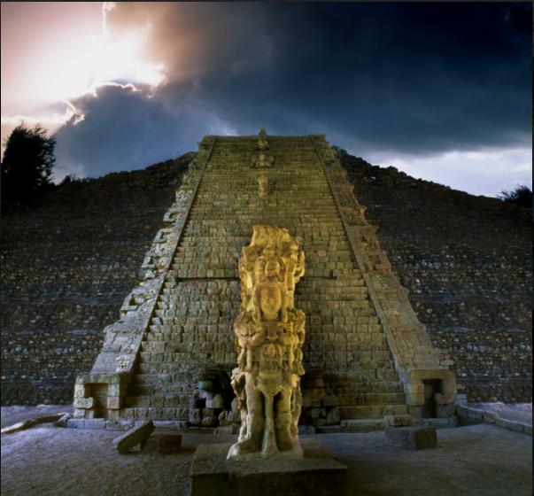 El departamento de Copán, en la zona occidental de Honduras, cuenta con interesantes restos arqueológicos de la civilización maya.