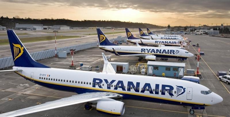 Los beneficios de Ryanair caen un 8% pese a que su tráfico aumenta un 16%