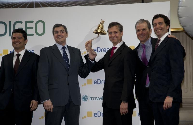 eDreams Odigeo comenzó a cotizar en la bolsa de Madrid en 2014.