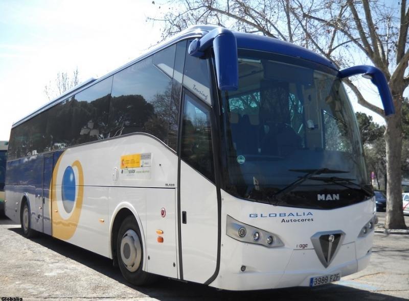 Globalia Autocares gana su primera ruta licitada de viajes por carretera
